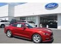 2017 Ruby Red Ford Mustang V6 Coupe #120609174