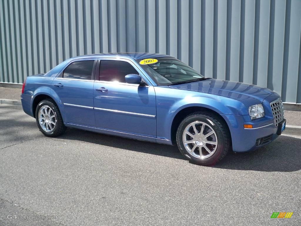 2007 marine blue pearlcoat chrysler 300 touring awd. Black Bedroom Furniture Sets. Home Design Ideas