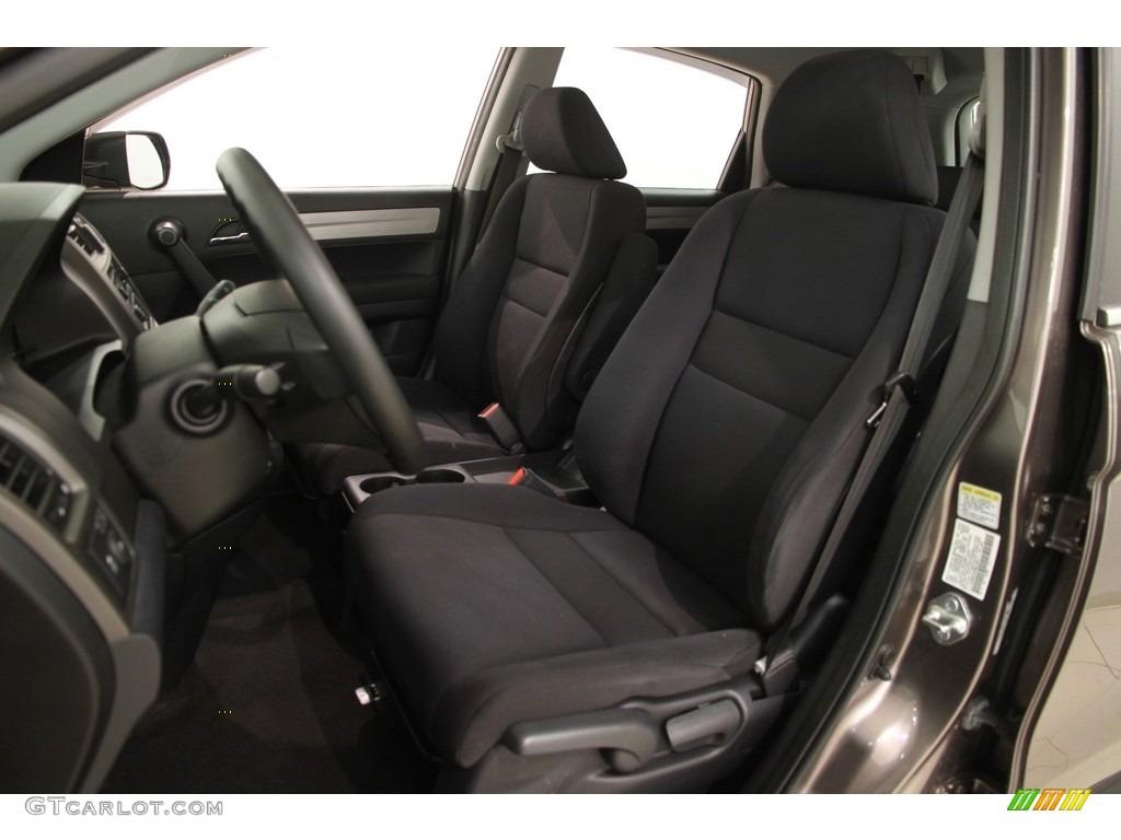2011 CR-V LX 4WD - Urban Titanium Metallic / Black photo #5