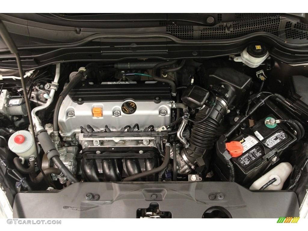 2011 CR-V LX 4WD - Urban Titanium Metallic / Black photo #15