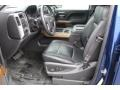 2014 Blue Topaz Metallic Chevrolet Silverado 1500 LTZ Crew Cab  photo #13