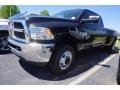 Brilliant Black Crystal Pearl 2017 Ram 3500 Tradesman Crew Cab 4x4 Dual Rear Wheel