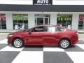 2016 Ruby Red Metallic Ford Fusion SE #120660227