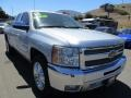 2013 Silver Ice Metallic Chevrolet Silverado 1500 LT Extended Cab  photo #1