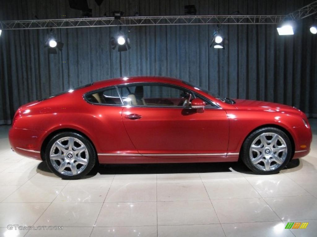 2005 Umbrian Red Bentley Continental Gt Mulliner 12066510