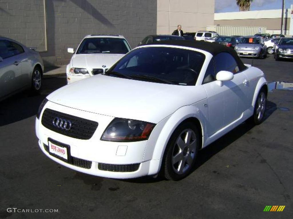 2002 brilliant white audi tt 1.8t roadster #1202451 | gtcarlot