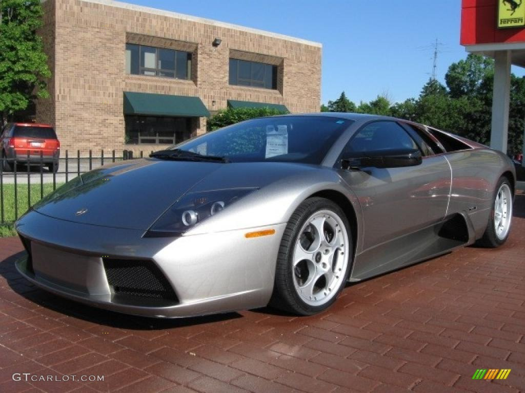 2002 Grey Metallic Lamborghini Murcielago Coupe 12066530 Photo 4