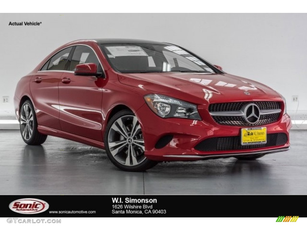 2018 jupiter red mercedes benz cla 250 coupe 120680192 for Red mercedes benz cla