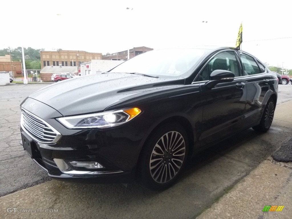 2017 Fusion SE AWD - Shadow Black / Ebony photo #6