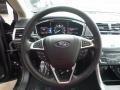 2017 Shadow Black Ford Fusion SE AWD  photo #16