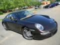 2008 Macadamia Metallic Porsche 911 Carrera 4 Coupe  photo #3