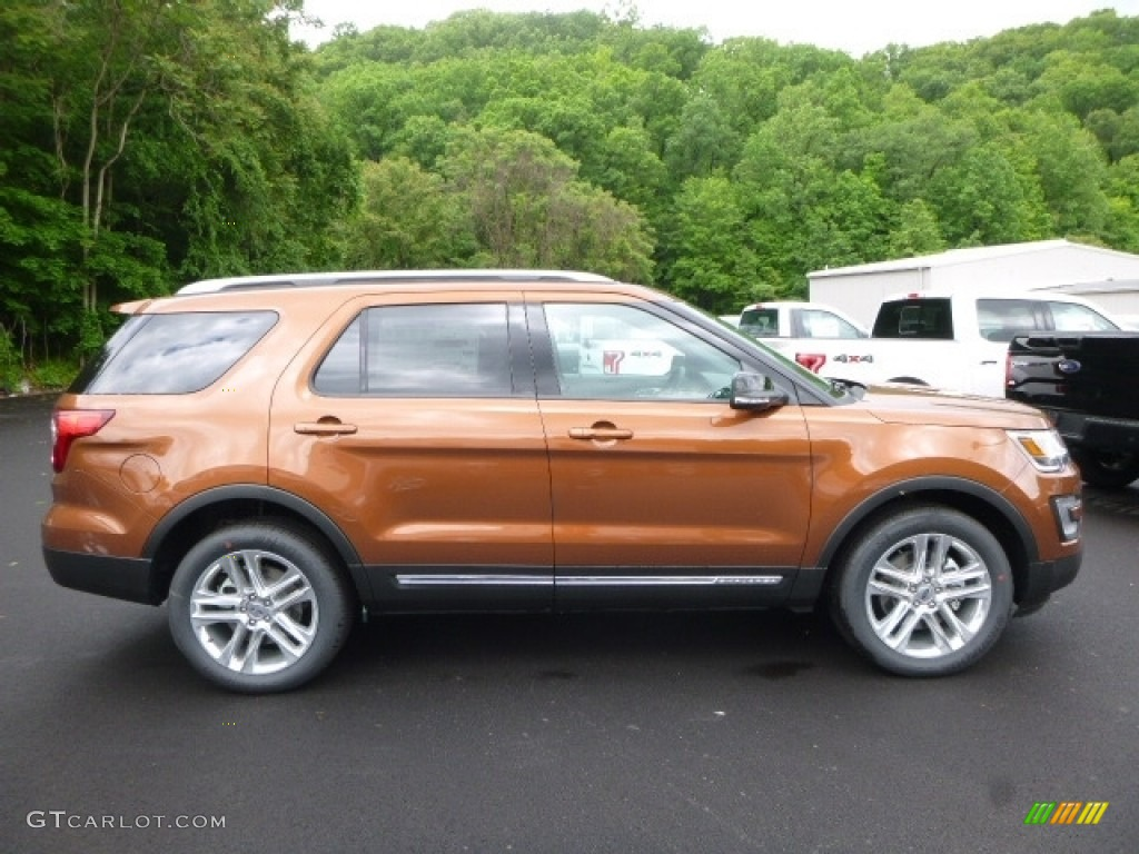 Ford Explorer Limited >> 2017 Canyon Ridge Ford Explorer XLT 4WD #120680288 Photo #3 | GTCarLot.com - Car Color Galleries