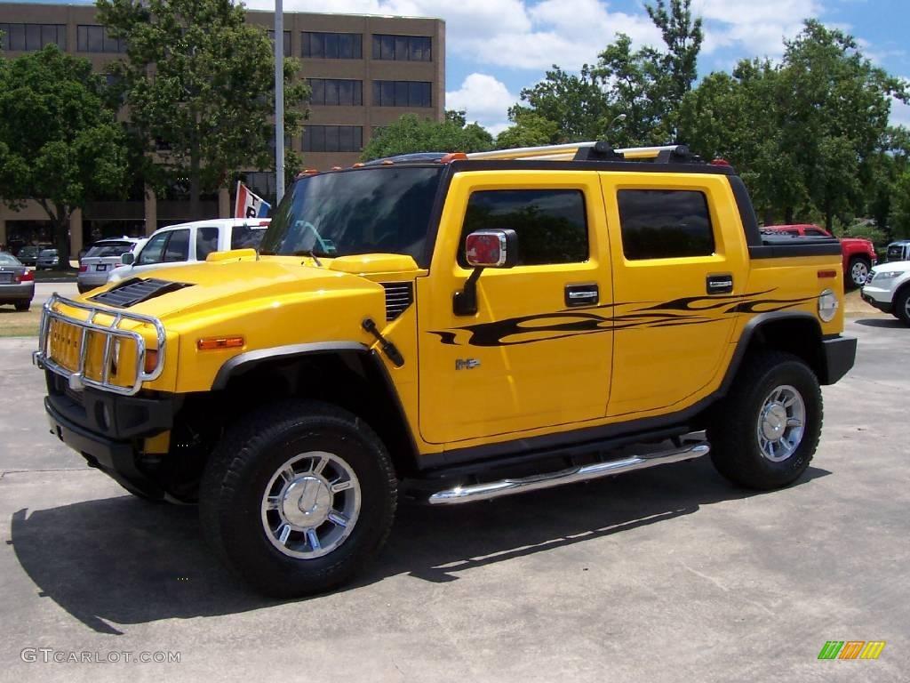 2005 yellow hummer h2 sut 12051895 photo 7 gtcarlot car yellow hummer h2 hummer h2 sut vanachro Gallery