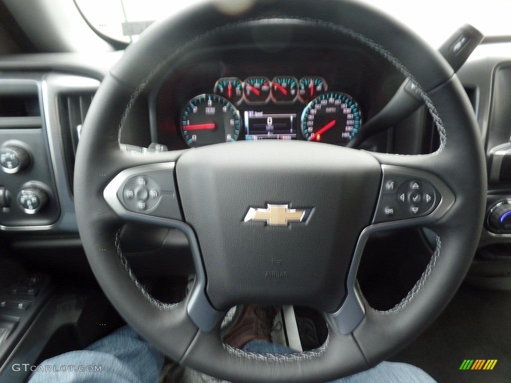 2017 Summit White Chevrolet Silverado 1500 Lt Double Cab 4x4 120680119 Photo 30
