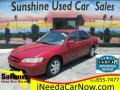 Ruby Red Pearl 2000 Honda Accord SE Sedan