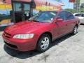 Ruby Red Pearl - Accord SE Sedan Photo No. 4