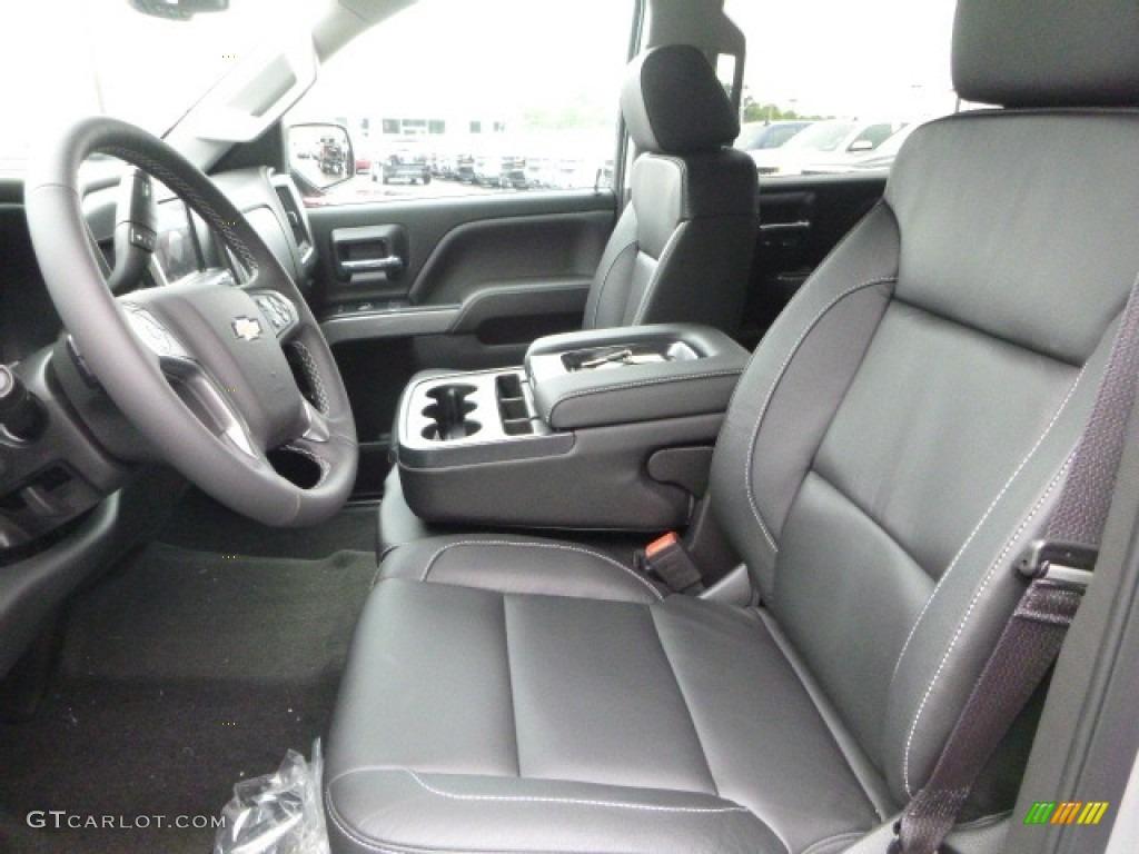 2017 Silver Ice Metallic Chevrolet Silverado 1500 Ltz Crew Cab 4x4 120708911 Photo 18
