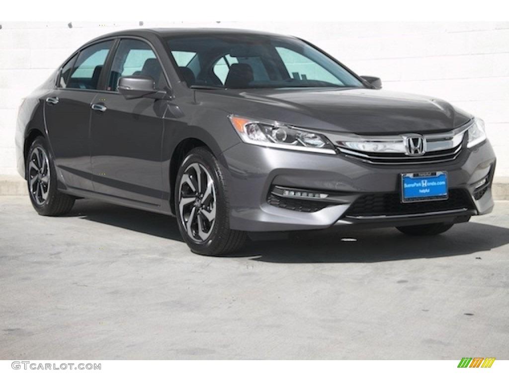 2017 Modern Steel Metallic Honda Accord Ex Sedan