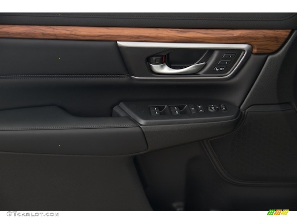 2017 CR-V Touring - White Diamond Pearl / Black photo #7