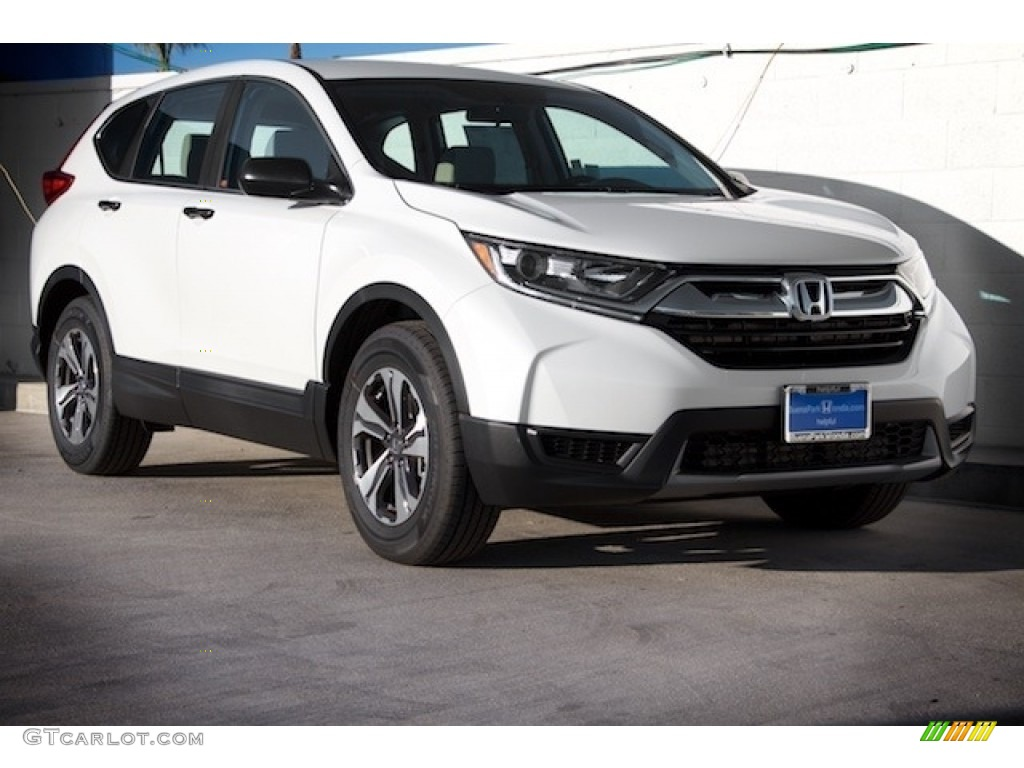 2017 white diamond pearl honda cr v lx 120726303