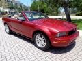 2007 Redfire Metallic Ford Mustang V6 Premium Convertible  photo #9