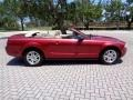 2007 Redfire Metallic Ford Mustang V6 Premium Convertible  photo #11