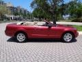 2007 Redfire Metallic Ford Mustang V6 Premium Convertible  photo #17