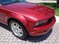 2007 Redfire Metallic Ford Mustang V6 Premium Convertible  photo #28