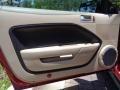 2007 Redfire Metallic Ford Mustang V6 Premium Convertible  photo #35