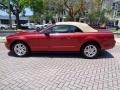 2007 Redfire Metallic Ford Mustang V6 Premium Convertible  photo #36