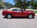 2007 Redfire Metallic Ford Mustang V6 Premium Convertible  photo #42