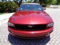 2007 Redfire Metallic Ford Mustang V6 Premium Convertible  photo #45