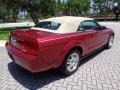 2007 Redfire Metallic Ford Mustang V6 Premium Convertible  photo #62