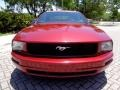 2007 Redfire Metallic Ford Mustang V6 Premium Convertible  photo #69
