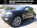 Diamond Black Crystal Pearl 2017 Jeep Grand Cherokee Overland 4x4