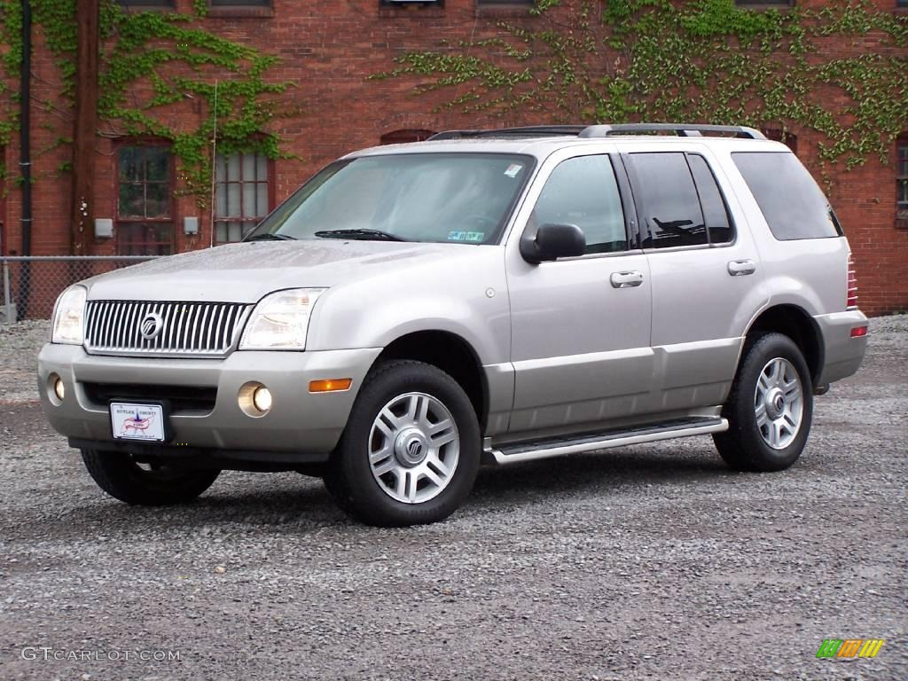 2003 Silver Birch Metallic Mercury Mountaineer Convenience