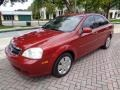 Fusion Red Metallic 2008 Suzuki Forenza
