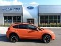 Tangerine Orange Pearl 2013 Subaru XV Crosstrek 2.0 Premium