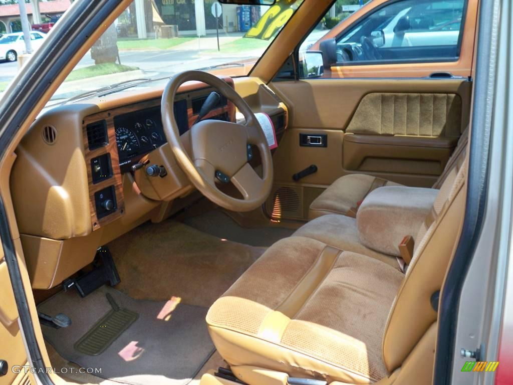 on 1991 Dodge Dakota Interior