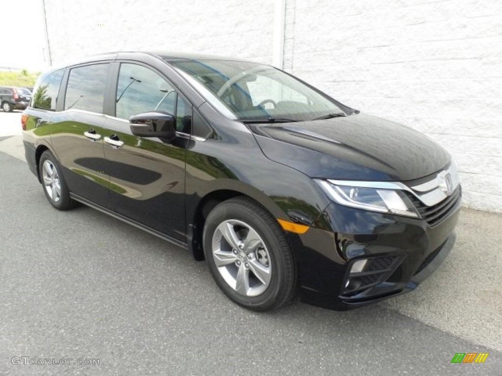 2018 Crystal Black Pearl Honda Odyssey Ex L 120796552