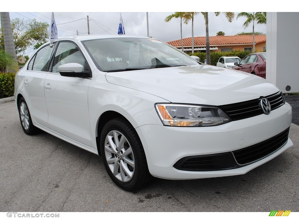 2014 pure white volkswagen jetta se sedan 120852121 photo. Black Bedroom Furniture Sets. Home Design Ideas