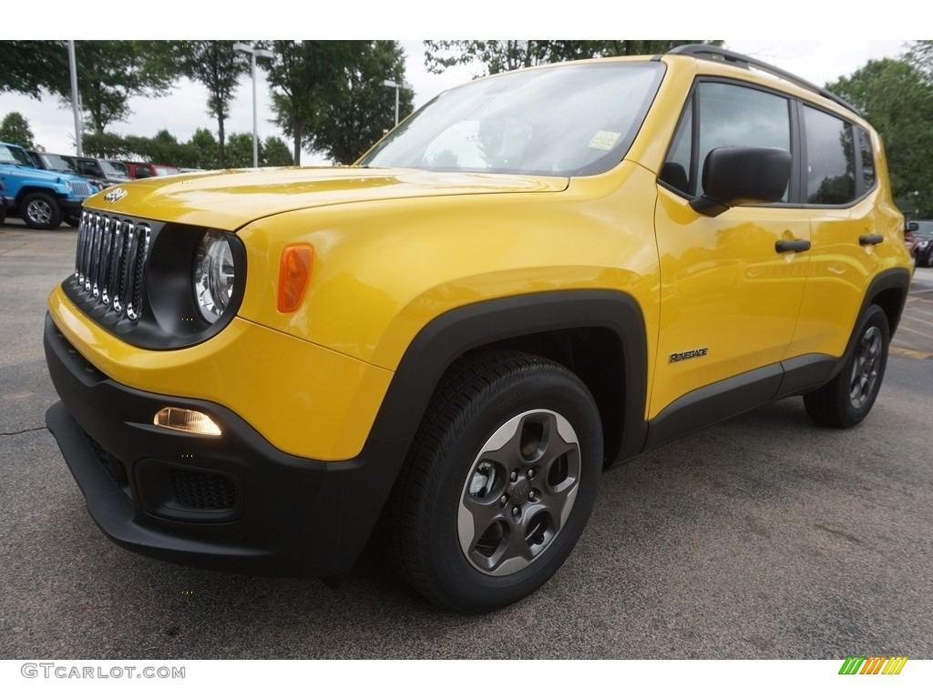 2017 solar yellow jeep renegade sport 120852184 photo 2 car color galleries. Black Bedroom Furniture Sets. Home Design Ideas
