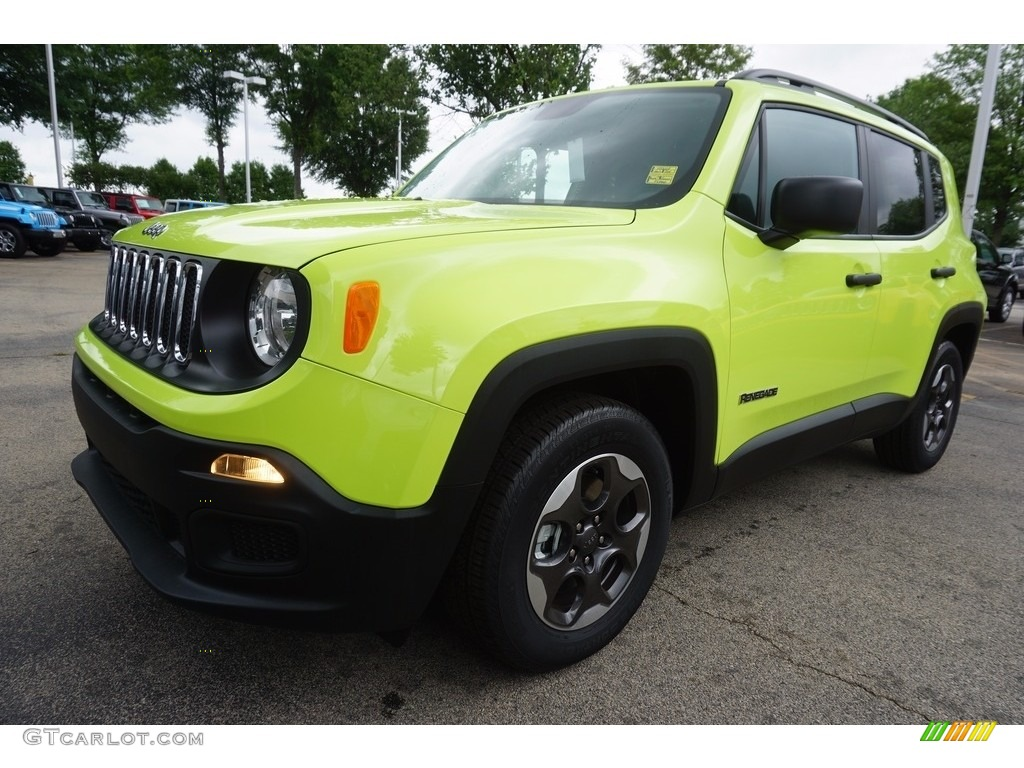 2017 hypergreen jeep renegade sport 120852180 photo 2 car color galleries. Black Bedroom Furniture Sets. Home Design Ideas