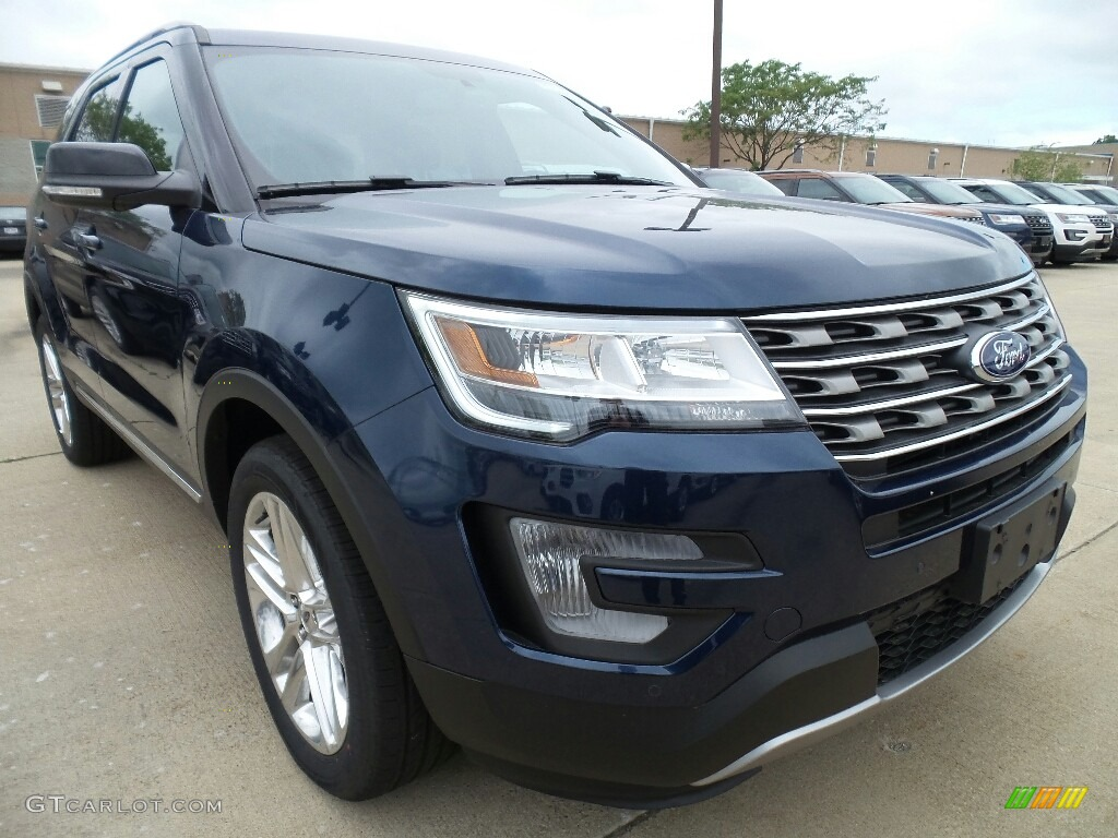2017 Blue Jeans Ford Explorer Xlt 4wd 120871638