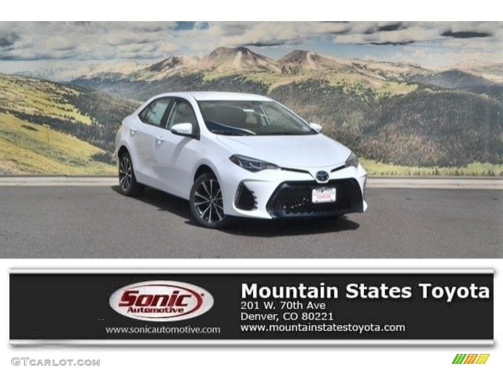2017 Super White Toyota Corolla SE #120871508 | GTCarLot ...