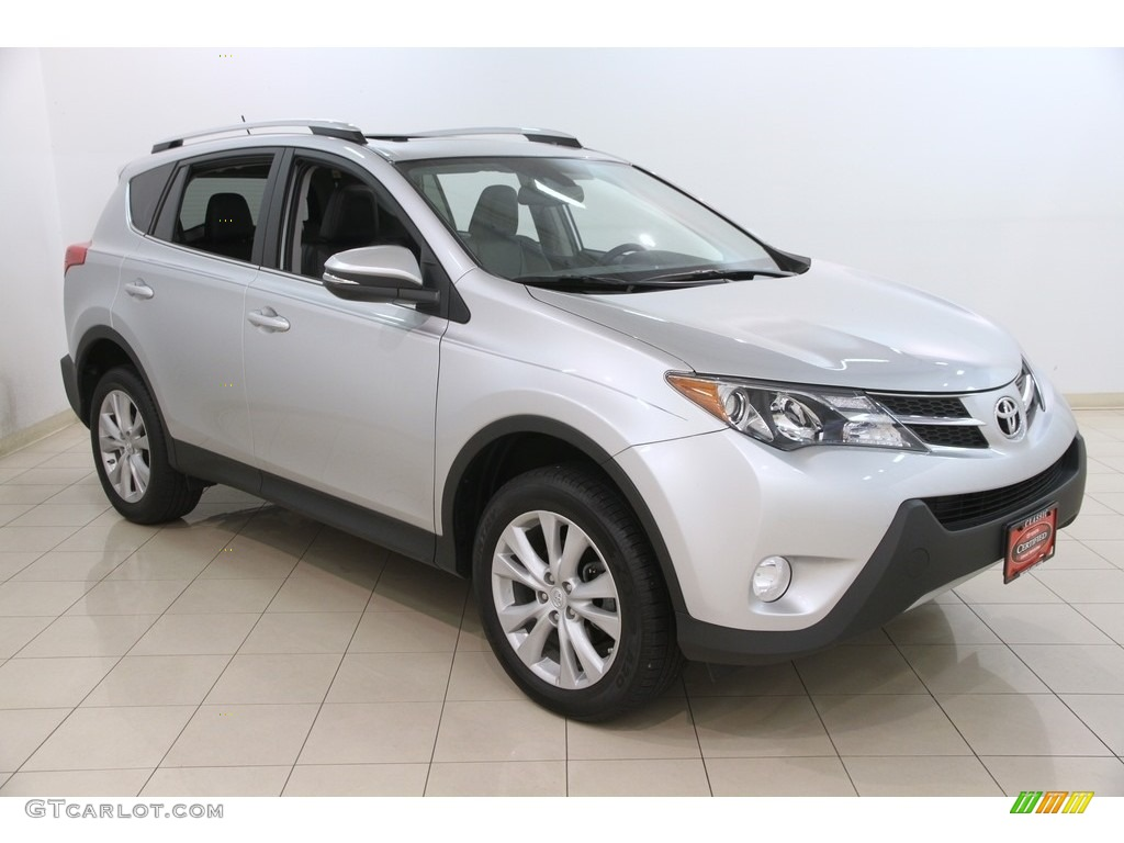 2014 classic silver metallic toyota rav4 limited awd. Black Bedroom Furniture Sets. Home Design Ideas