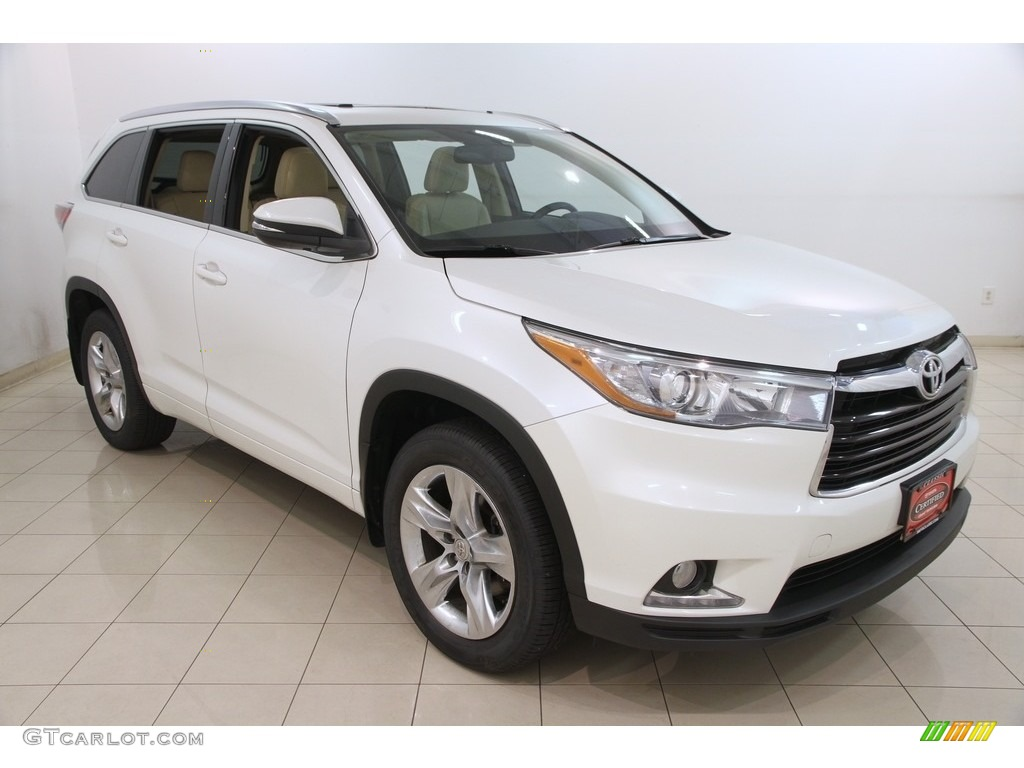 2015 blizzard pearl white toyota highlander limited awd 120871629 photo 8 car. Black Bedroom Furniture Sets. Home Design Ideas