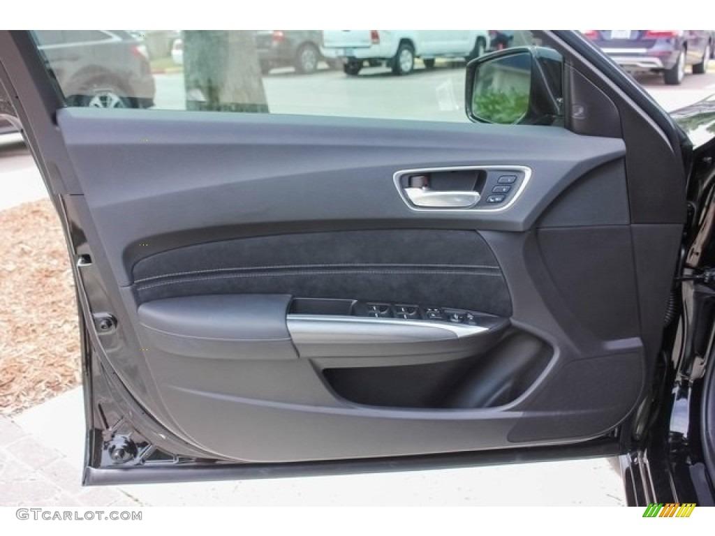 2018 Acura Tlx V6 Sh Awd A Spec Sedan Ebony Door Panel Photo 120882440 Gtcarlot Com
