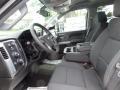 Jet Black Interior Photo for 2017 Chevrolet Silverado 2500HD #120897734