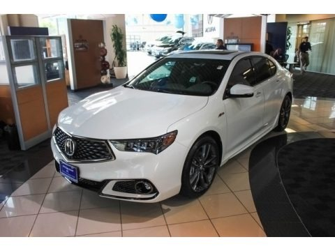 2018 Acura TLX V6 SH-AWD A-Spec Sedan Data, Info and Specs